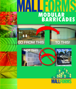 Construction Temporary Walls, Mall Barricades, Construction Enclosures