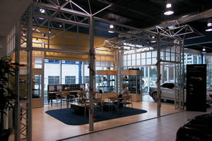MALLFORMS Mercedez Benz Showroom