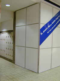 Temporary Walls System & Partitions Solution