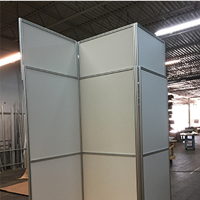 New Adjule Height Option To Quickly And Easily Add 1 18 Inches Any Mallforms Temporary Wall Eliminate Gaps Between The Construction